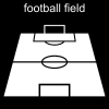 football field Pictogram