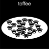 toffee Pictogram