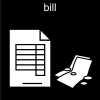 bill Pictogram