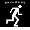 go ice skating Pictogram