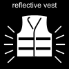 reflective vest Pictogram