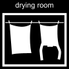 drying room Pictogram