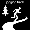 jogging track Pictogram