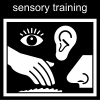 sensory training Pictogram