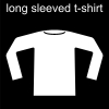 long sleeved t-shirt Pictogram