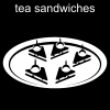 tea sandwiches Pictogram