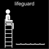lifeguard Pictogram