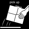pick up Pictogram