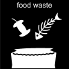 food waste Pictogram