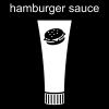 hamburger sauce Pictogram