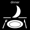 dinner Pictogram