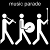 music parade Pictogram