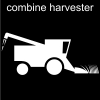combine harvester Pictogram
