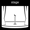stage Pictogram