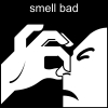 smell bad Pictogram