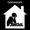 homework Pictogram
