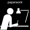 paperwork Pictogram