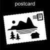 postcard Pictogram