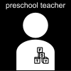 preschool teacher Pictogram