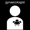 gynaecologist Pictogram