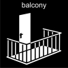 balcony Pictogram
