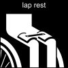 lap rest Pictogram