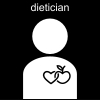 dietician Pictogram