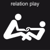 relation play Pictogram
