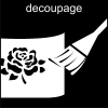 decoupage Pictogram