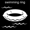 swimming ring Pictogram