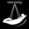 nest swing Pictogram