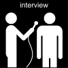 interview Pictogram