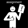 assignment Pictogram
