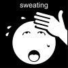 sweating Pictogram