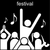 festival Pictogram