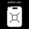 petrol can Pictogram
