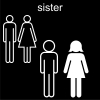 sister Pictogram