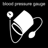 blood pressure gauge Pictogram