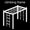 climbing frame Pictogram