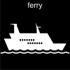 ferry Pictogram