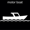 motor boat Pictogram