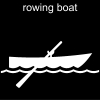 rowing boat Pictogram