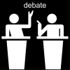 debate Pictogram
