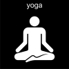 yoga Pictogram