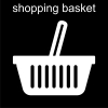 shopping basket Pictogram