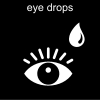 eye drops Pictogram