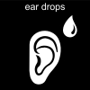 ear drops Pictogram