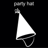 party hat Pictogram