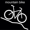 mountain bike Pictogram