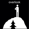 overlook Pictogram